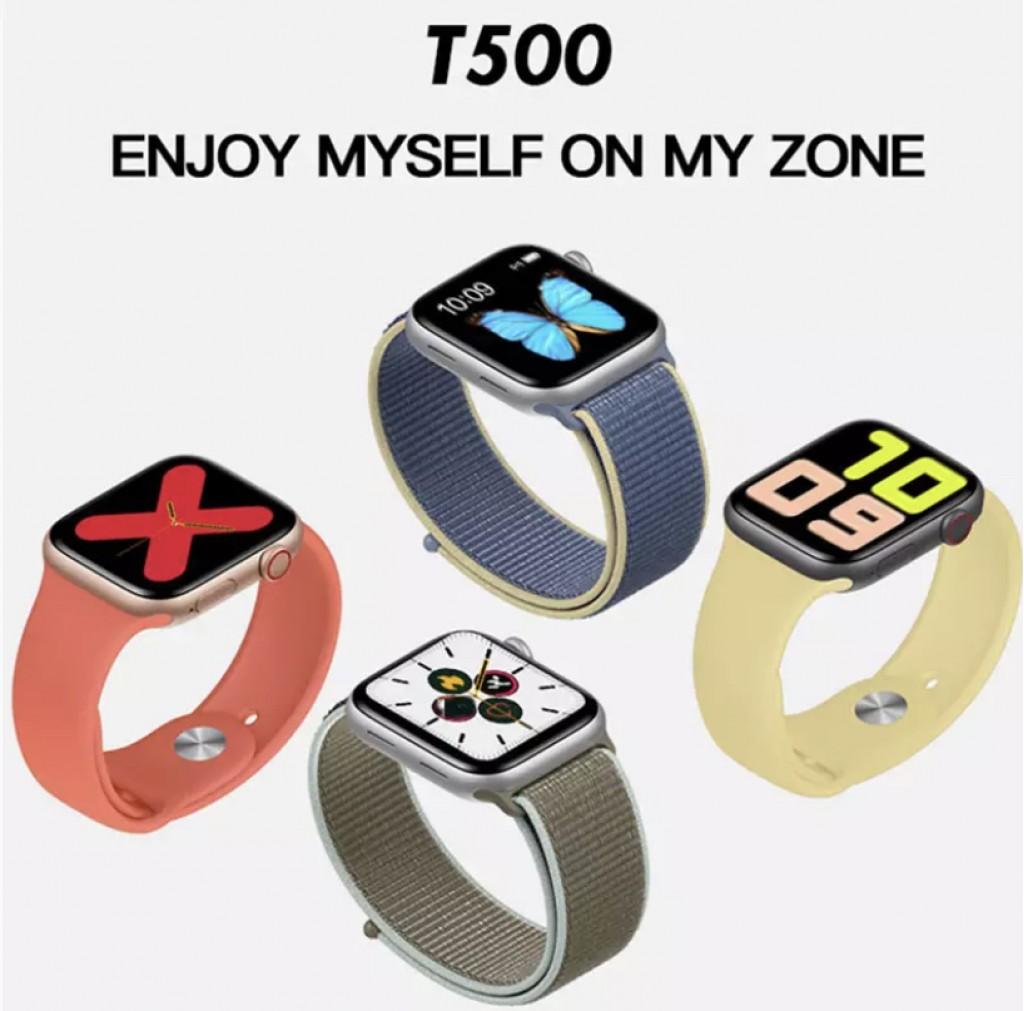 Türkçe Menü 2020 Tam Kapasite Tam dokunmatik T500 akıllı Saat