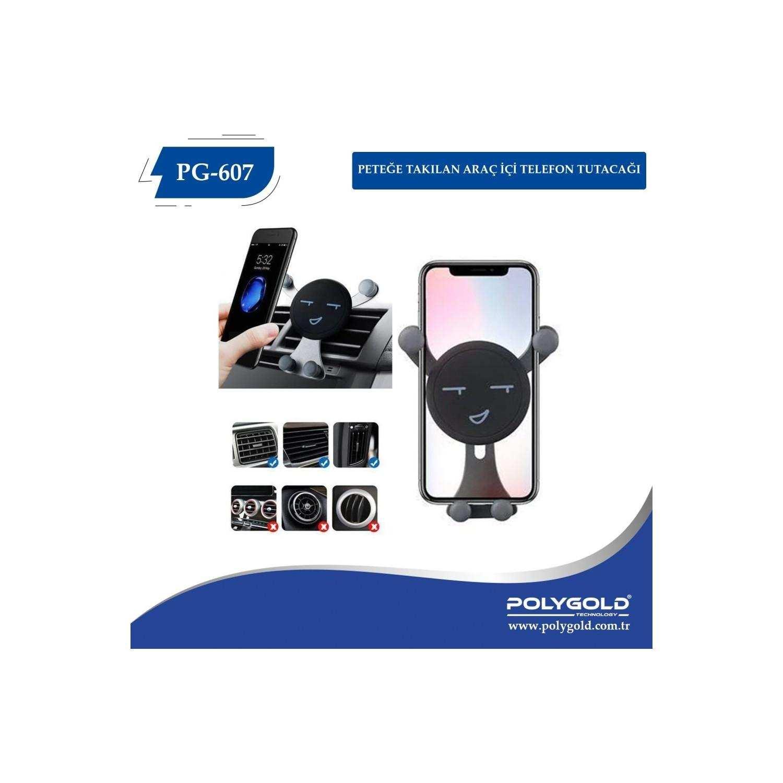 Polygold PG-607 Araç Universal Telefon Tutacağı