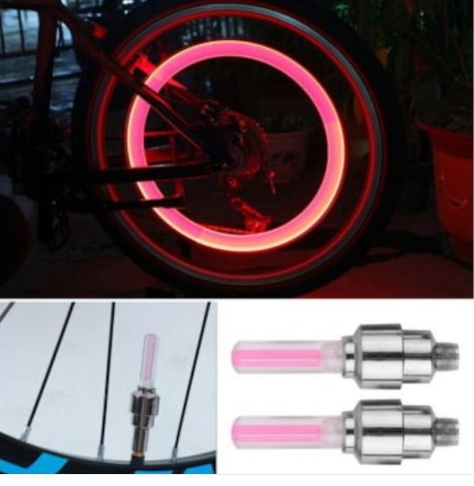 Hareket Sensörlü Led Işıklı Sibop Kapağı-Pembe 2 Adet