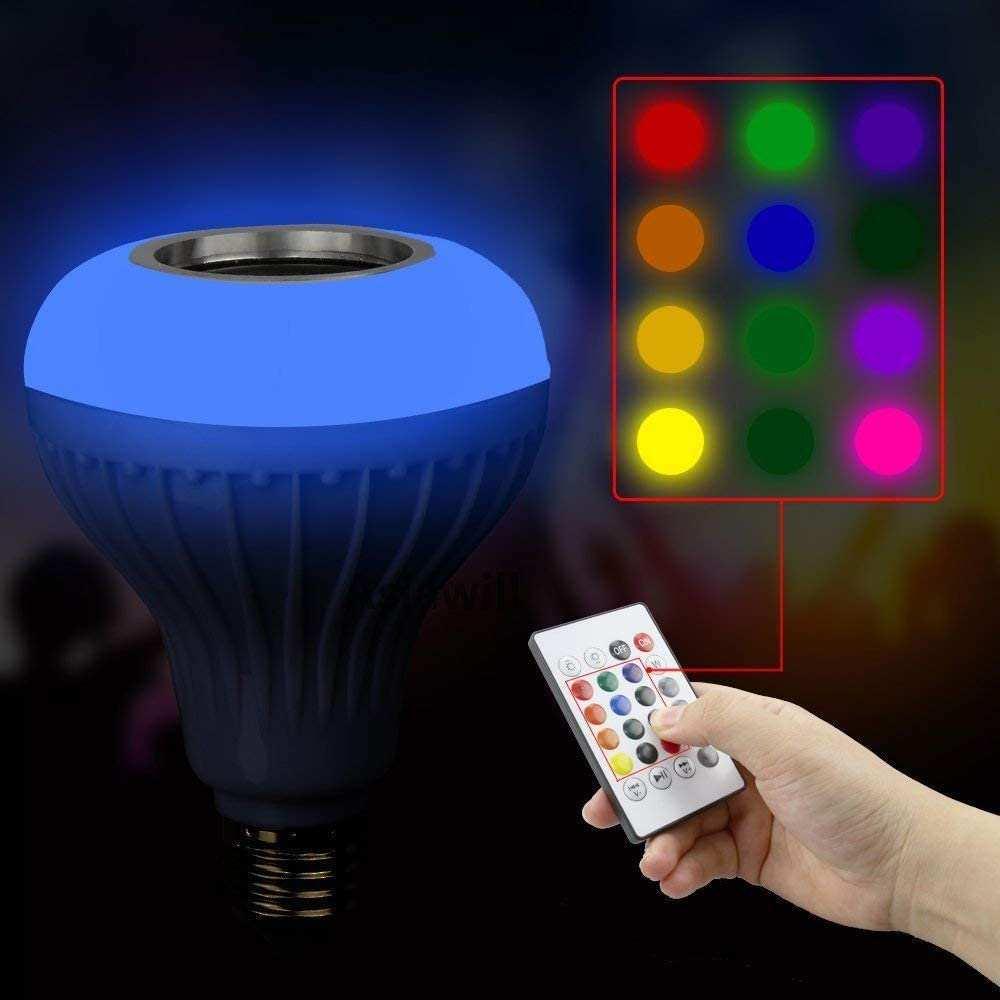 Music Bulb Bluetooth Hoparlör Akıllı Led Ampul Lamba