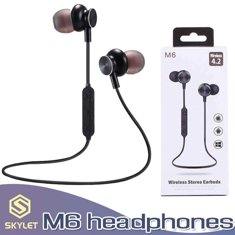 M6 Bluetooth Kulaklık Kablosuz Spor Kulaklık