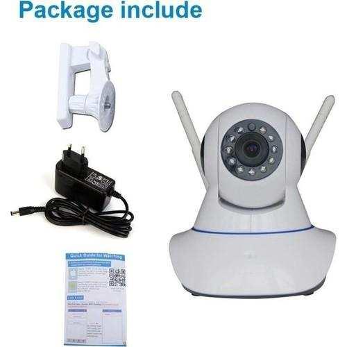 Full Hd P2P 360º Wifi Kablosuz Ip Kamera Güvenlik Bebek İzleme